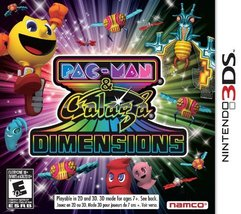 Pac-Man and Galaga Dimensions - Nintendo 3DS [video game] - $47.45