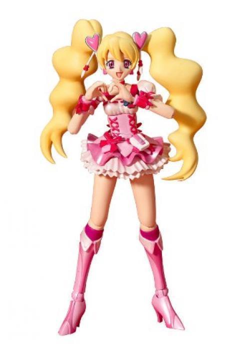 Nouveau S.H.Figurines Frais Precure ! Cure Peach Figurine Articulée Bandai