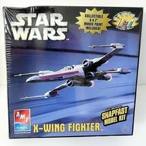 Star Wars X-Wing Fighter AMT ERTL Snapfast Model Kit Skill 2 #38318-1HD ... - $31.34