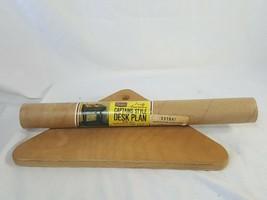 Sears Early American Captain's Style Desk Plan Instructions + Bottle Rac... - $19.79