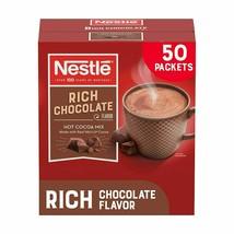 Nestlé NES25485 Hot Cocoa Mix Rich Chocolate Flavor, 0.71oz - 50 Count - $19.70