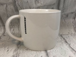 Starbucks 2016 FILL YOUR CUP White Ceramic Coffee Mug Collectible - $9.50
