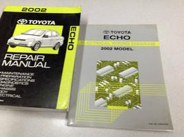 2002 TOYOTA ECHO Service Repair Shop Workshop Manual Set W Wiring Diagram OEM - $98.95