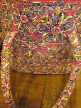 VERA BRADLEY SUNBURST FLORAL VERA TOTE RETIRED BRAND NEW WITH TAG - $149.99