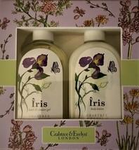 Crabtree & Evelyn Iris Bath and Shower Gel + Body Lotion Gift Set 8.5 oz... - $39.55