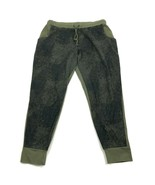 CHAMPION Women's Joggers Size XL Extra Large Olive Green Pull on Tapered... - $23.53