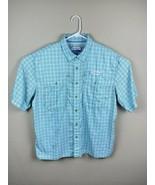 Mens Magellan Outdoor Vented Fishing Shirt Mag Wick Angler XL Fish Gear - $16.55