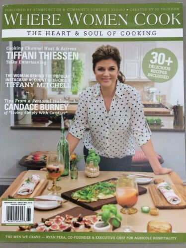 Where Women Cook Vintage Magazine Spring 2016 Cooking Craft Creative Homemade