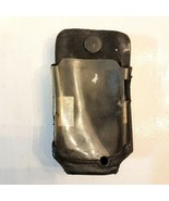 """Small Flip Phone Pager Case Vintage Belt Clip On Black Leather 2"""" x 3.5""""... - $5.94"""