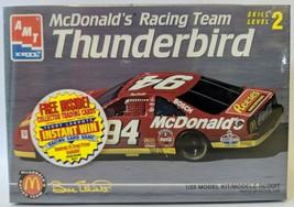 AMT 1:25 Bill Elliott 94 MCDONALDS Racing Team Thunderbird NASCAR Car Mo... - $13.00