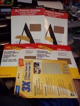 "23p 9"" X 11"" Sanding Sheets Sand Paper 100 Med 150 Fine 220 Very Fine 80 120 180 - $16.92"