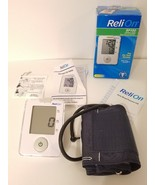 ReliOn BP100 Upper Arm Blood Pressure Monitor with Cuff Battery Operated... - $35.00