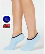Charter Club Fuzzy Cozy Socks Blue Liners - NWT - $6.80