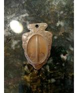 Vintage Washington Souvenir Arrowhead Copper Medallion - $49.78
