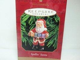 """Spellin' Santa, 1999 Hallmark Keepsake Ornament, Spells """"Noel"""" - $14.70"""