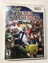 Super Smash Bros Brawl (Nintendo Wii 2008) GAME DISC MANUAL & CASE MARIO... - $19.95