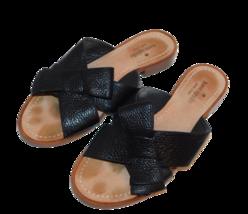 Kate Spade Black Bow Slide Sandals Sz 8 M Women - $17.30