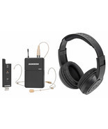 Samson Stage XPD2 Wireless Live Stream Podcast Broadcast Headset Mic+Headphones - £135.25 GBP