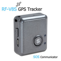 RF-V8S Mini Remote Listening GPS Tracker GSM GPRS Tracking Device & SOS ... - $59.36