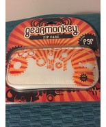NEW FACTORY SEALED GEARMONKEY ZIP CASE FOR PSP RED ORANGE WHITE (FREE SH... - $9.89