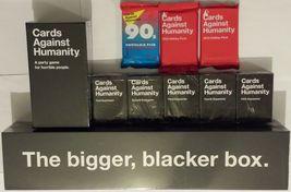 Cards Against Humanity Complete Set Expansions 1-5 Bigger Blacker Box Ne... - $435.17