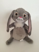 "DISNEY Sofia the First gray white pink CLOVER THE BUNNY RABBIT 9"" plush - $11.29"