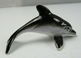 Vintage Miniature Shiken Bone China Porcelain Dolphin Japan - $15.00