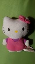 "4"" Mini Hello Kitty Plush Toy Stuffed Animal by Sanrio Girls 3+ - $16.82"