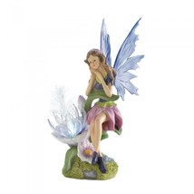 Solar Fairy with Flower - $32.00