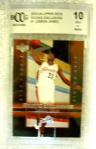 Lebron James RC 2004 Fleer USA Rookie Card GEM BGS 9.5! Cavaliers RC image 11