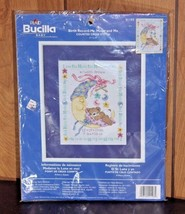 Bucilla #41193 Baby Cross Stitch Kit Mr Moon and Me Counted Cross Stitch - $16.14