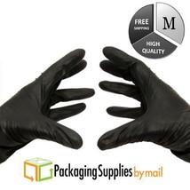 4 Mil Nitrile Gloves Powder Free Black Medical Exam Size - Medium 8000 Pcs - $429.41