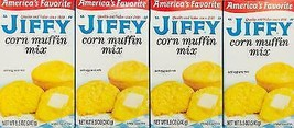 4 Boxes Of Jiffy Corn Bread Muffin Baking Mix *~ Fast Free Shipping ! ~* - $12.75