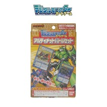 Bandai Digital Monster Card Game Digimon Battle Deck 3 Neo Metal Empire TCG Set - $73.26
