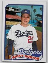 1989 Topps Baseball Card, #232, Ricky Horton, Los Angeles Dodgers - $0.99