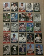 2004 UPPER DECK LEGENDS TIMELESS TEAMS 25 CARD LOT - $0.99