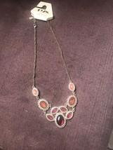 1928 Jewelry  Petal Cluster Bib Statement Necklace - $17.82