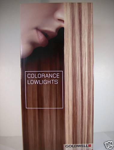 Primary image for Goldwell COLORANCE LowLights Professional Hair Color Trifold SWATCH CHART!!