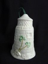 Beleek 1999 12th Edition Dunore Lighthouse China Annual Bell Ornament - $21.12