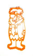 An item in the Home & Garden category: Fred Flintstone Yabba Dabba Doo Kids Cartoon Cookie Cutter 3D Printed USA PR2255