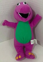 Nanco Small Barney the Dinosaur Plush purple green stuffed animal - $6.92