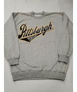 Vintage Pittsburgh Penguins NHL Dodger Pullover Sweatshirt Medium Good C... - $29.69