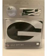 NFL Green Bay Packers GOLF GIFT SET -  BALL, BALL MARKER, TEES, TOWEL - $14.99