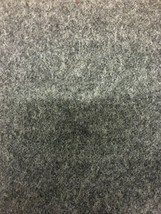 Mid Century Charcoal Gray Wool Upholstery Fabric 3.75 yards GX - $57.00