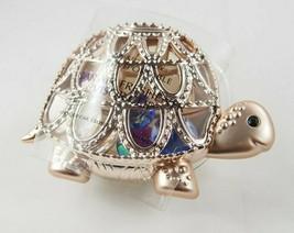(1) Bath & Body Works Rose Gold Turtle Shell Gem Scentportable Car Visor Clip - $9.89