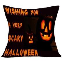 Halloween Pillow Case Sofa Waist Throw Cushion Covers Home Decor - $21.88