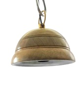 Home Decor Ceiling Hanging Light Nautical Wooden Pendant Light  - $60.00