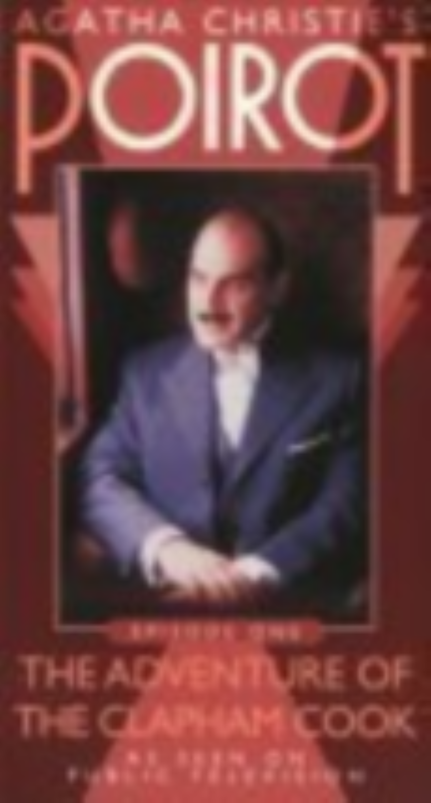 Poirot Episode One - Adventure of the Clapham Cook Vhs