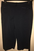 NWT WOMEN'S TAIL ACTIVEWEAR UPDATED TECH GOLF PEDAL PUSHERS SZ 10 MIDNIG... - $52.46