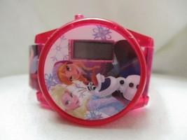 Frozen Disney Girls Pink Digital Wristwatch w/ Adjustable Buckle Band - $29.00